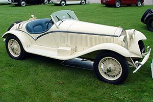 Click here to open the Alfa Romeo 6C 1750 Gran Sport Touring Spider gallery
