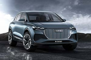 Click here to open the Audi Q4 e-tron Concept gallery