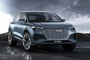 Click here to open the Audi Q4 e-tron Concept gallery