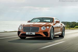Click here to open the Bentley Continental GT V8 gallery