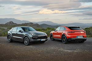 Click here to open the Porsche Cayenne Turbo Coupé gallery