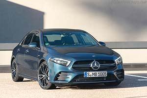 Click here to open the Mercedes-AMG A 35 4MATIC Sedan gallery