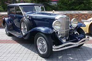 Click here to open the Duesenberg J Murphy Sport Sedan gallery