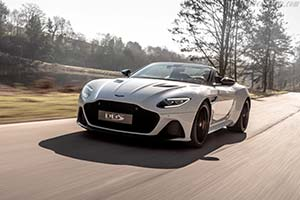Click here to open the Aston Martin DBS Superleggera Volante gallery