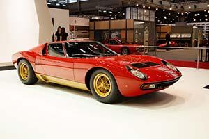 Click here to open the Lamborghini Miura P400 SV  gallery