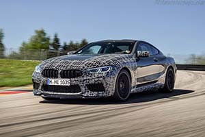 Click here to open the BMW M8 Coupe gallery
