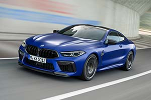 Click here to open the BMW M8 Competition Coupe gallery