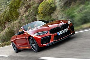 Click here to open the BMW M8 Competition Convertible gallery