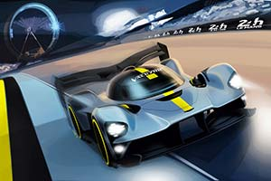 Click here to open the Aston Martin Valkyrie Le Mans gallery