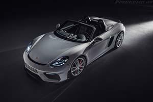 Click here to open the Porsche 718 Spyder gallery