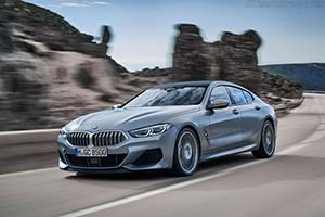 Click here to open the BMW M850i xDrive Gran Coupe gallery