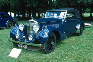 Click here to open the Bentley 4¼ Litre Vesters & Neirinck Drophead Coupe gallery