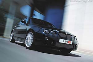 Click here to open the MG ZT 220S gallery