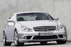 Click here to open the Mercedes-Benz CLS 55 AMG gallery