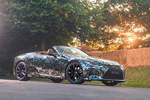 Click here to open the Lexus LC Convertible Prototype gallery