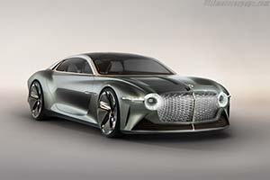 Click here to open the Bentley EXP 100 GT gallery