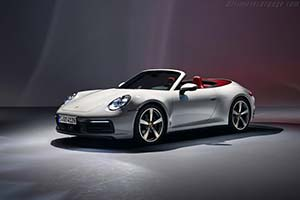 Click here to open the Porsche 911 Carrera Cabriolet gallery
