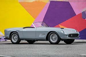 Click here to open the Ferrari 250 GT LWB California Spyder  gallery