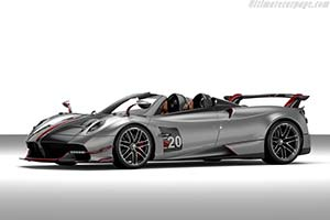 Click here to open the Pagani Huayra Roadster BC gallery