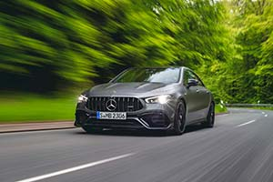 Click here to open the Mercedes-AMG CLA 45 S 4MATIC+ gallery
