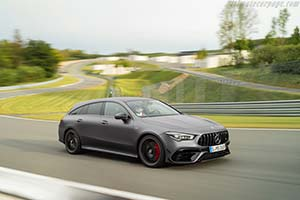 Click here to open the Mercedes-AMG CLA 45 S 4MATIC+ Shooting Brake gallery