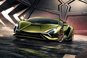 Click here to open the Lamborghini Sián gallery