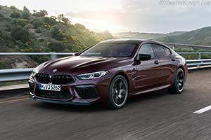 Click here to open the BMW M8 Gran Coupe Competition gallery