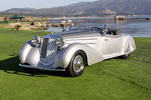 Click here to open the Horch 853 A Erdmann & Rossi Sport Cabriolet gallery
