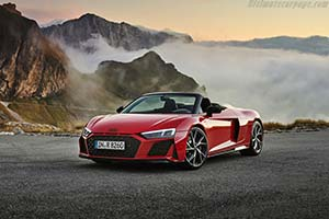 Click here to open the Audi R8 V10 RWD Spyder gallery