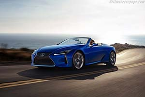 Click here to open the Lexus LC 500 Convertible gallery