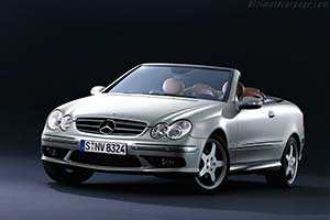 Click here to open the Mercedes-Benz CLK 500 Cabriolet 'Giorgio Armani' gallery