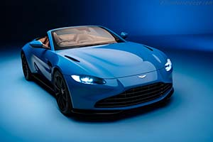 Click here to open the Aston Martin Vantage Roadster gallery