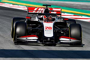 Click here to open the Haas VF-20 Ferrari gallery
