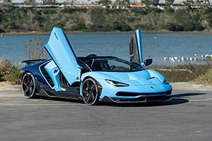 Click here to open the Lamborghini Centenario Roadster  gallery