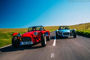 Click here to open the Caterham Super Seven 1600 gallery