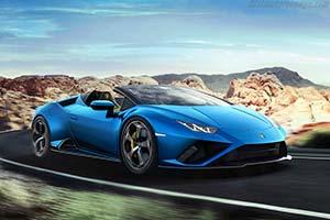 Click here to open the Lamborghini Huracán EVO RWD Spyder gallery