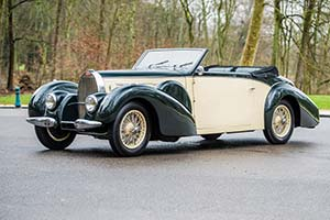 Click here to open the Bugatti Type 57 Gangloff Cabriolet  gallery
