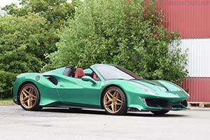 Click here to open the Ferrari 488 Pista Spider  gallery