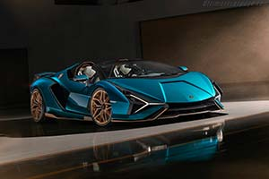 Click here to open the Lamborghini Sián Roadster gallery