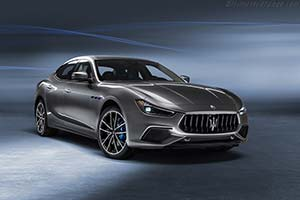 Click here to open the Maserati Ghibli Hybrid gallery