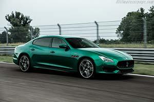 Click here to open the Maserati Quattroporte Trofeo gallery