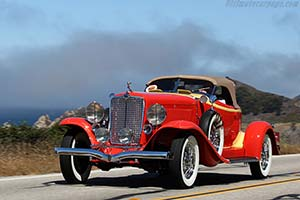 Click here to open the Auburn 12-161A Speedster  gallery