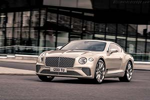 Click here to open the Bentley Continental GT Mulliner gallery
