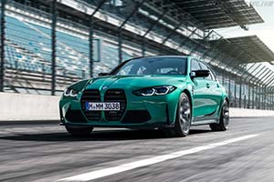 Click here to open the BMW M3 Sedan Competition gallery