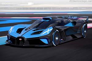 Click here to open the Bugatti Bolide gallery