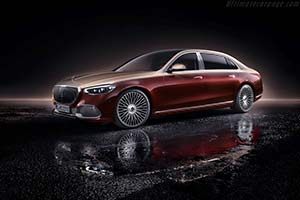 Click here to open the Mercedes-Maybach S-Class gallery
