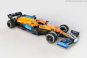 Click here to open the McLaren MCL35M Mercedes gallery
