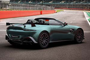 Click here to open the Aston Martin Vantage F1 Roadster gallery