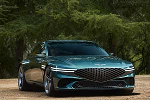 Click here to open the Genesis X10 Concept gallery