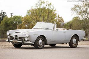 Click here to open the Alfa Romeo 2600 Spider  gallery